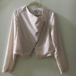 ASOS Studded Blush Lightweight Zip Jacket